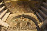ヴェネツィアの大聖堂聖マルコのモザイク — ストック写真