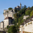 Medieval village of Rocamadour - Stock Photo