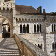 Palais Abbatial of Rocamadour. — Stock Photo