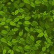 Royalty-Free Stock Vectorielle: Green leaves seamless texture