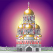 Orthodox Church - Stock Vector