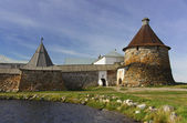 Old kremlin of Solovki monastery — Stock Photo