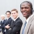 Afro-Amerikaanse zakenman — Stockfoto