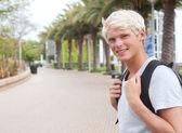 Joven estudiante adolescente — Foto de Stock