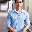 Handsome, young latino businessman — Stock Photo #9961831
