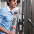 Handsome, young latino businessman — Stock Photo