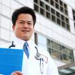 Stock Photo: Asian doctor