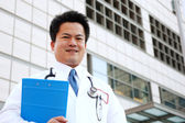 Asian doctor — Stockfoto