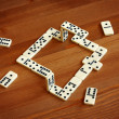 Unreal domino — Stock Photo