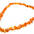 Amber necklace — Stockfoto #9742752