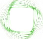 зеленая рамка квадратной формы — Стоковое фото