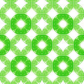 Seamless background of green circles — Stock Photo