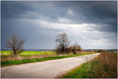 Overcast weather — Stockfoto