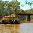 Stock Photo: Old steamboat in Echuca