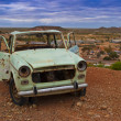 Rusty car in the australian outback — Stock Photo