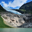 Boyabreen Glacier, Norway — Stock Photo