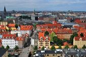 Copenhagen panoramic view — Stock Photo