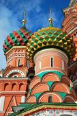 St. Basil's Cathedral, Moscow — Stock Photo