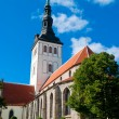 St. Nicholas' Church, Tallinn — Stock Photo