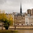 Paris view from Seine river — Stock Photo #10538776