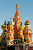 St. Basil's Cathedral, Red Square, Moscow — Stock Photo