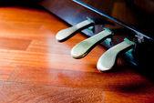 Klavier Pedale-detail — Stockfoto