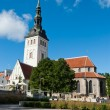 St. Nicholas' Church, Tallinn - Stock Photo
