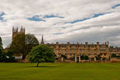 Oxford University College, UK — Stock Photo