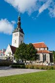 St. Nicholas' Church, Tallinn — Stock Photo