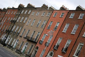 Georgian Dublin architecture — Stock Photo