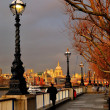 Sunset on St Paul's Cathedral — Stock Photo #9934544