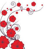 Floral explosion — Stok Vektör