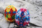 Origami easter egg — Stock Photo