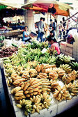 Bananas pile — Stock Photo