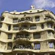 La Pedrera, also called Casa Mila, Barcelona, Spain — Stock Photo