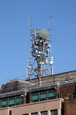 Cell phone tower — Stock Photo