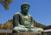 Great Buddha statue of Kamakura town, Japan — Stock Photo