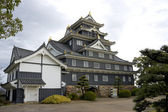 Okayama castle main keep, Japan — Stock Photo
