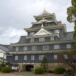 Main keep of Okayama castle, Japan — Stock Photo #10104324
