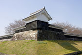 Tower of Shoryuji Castle — Stock Photo