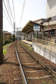 Myoshinji railway station in Kyoto, Japan — Foto Stock