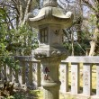 Stock Photo: Japanese traditional stone lantern