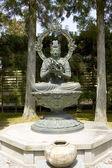 Statua di bosatsu kongoke nel tempio di ninna-ji. Kyoto, Giappone — Foto Stock