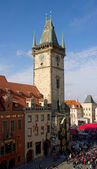 Old city hall in Prague. — Stock Photo