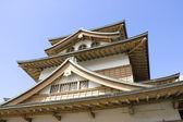 Takashima castle main keep (fragment) — Stock Photo