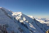 Mont Blanc peak of Alps — Stock Photo