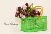 Flower Delivery — Stock Photo