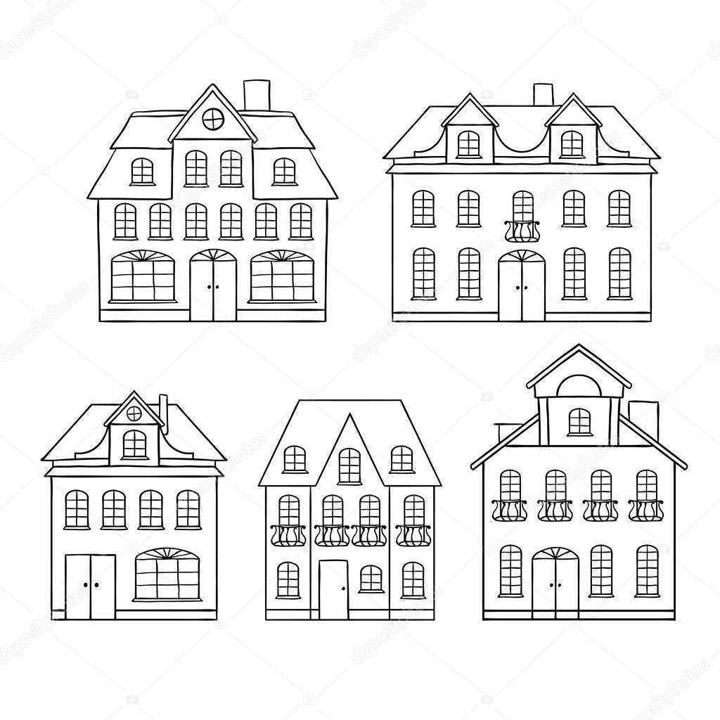 Kleurplaten Volwassenen Huizen.Huizen Kleurplaat Volwassenen Kleuren Nu Paddestoel Huisje