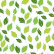Vector illustration. Seamless pattern of leaves. — ベクター素材ストック