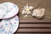 Beach konzept — Stockfoto